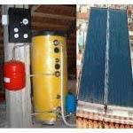 Pannello solare circolazione-forzata