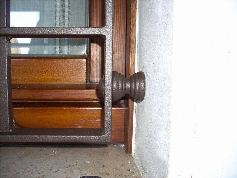 Inferriata in quadro base Mantova 5