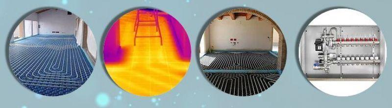 Impianto di riscaldamento radiante classico provincia di Roma 1
