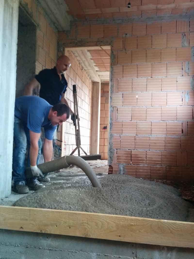Impianto riscaldamento radiante appartamento 40 mq Roma 5