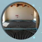 Impianto riscaldamento radiante appartamento 40 mq Roma