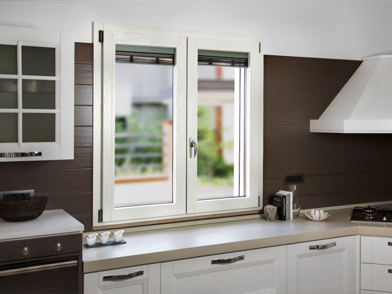 Finestra alluminio legno trial 90q 1