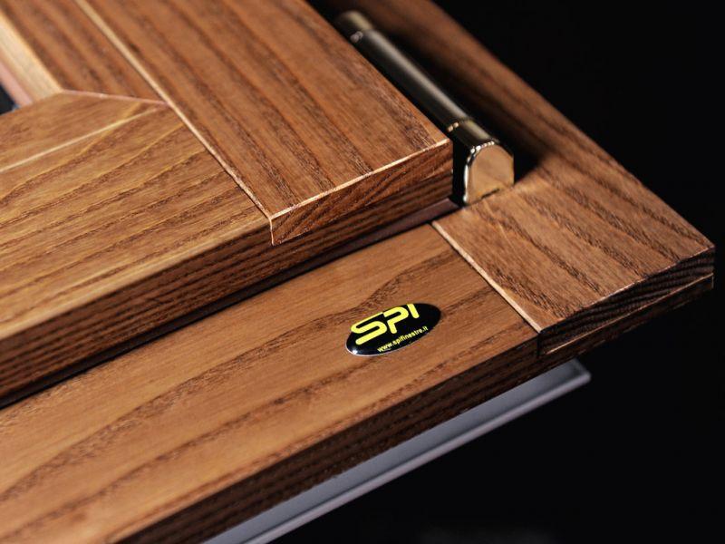 Finestra alluminio legno trial 90q 2