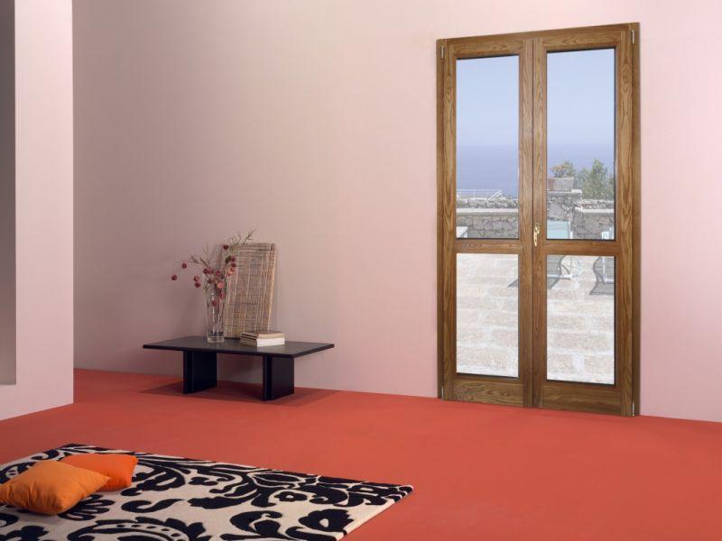 Finestra alluminio legno trial 90q 3