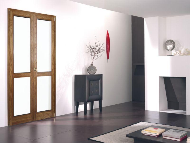 Finestra alluminio legno trial 90q 4