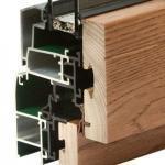 Finestra alluminio legno trial 90q
