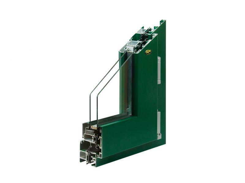 Finestra alluminio trial val q 6