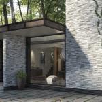 Cubics Grey: gres effetto pietra per interni raffinati