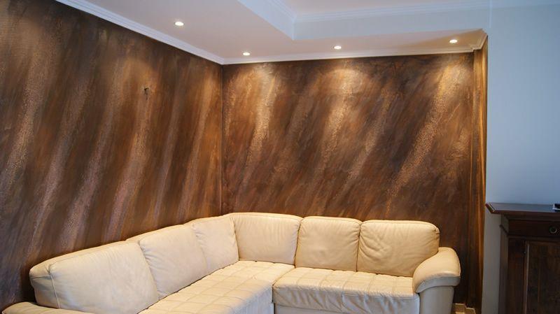 Decorazione materica pareti Milano 1