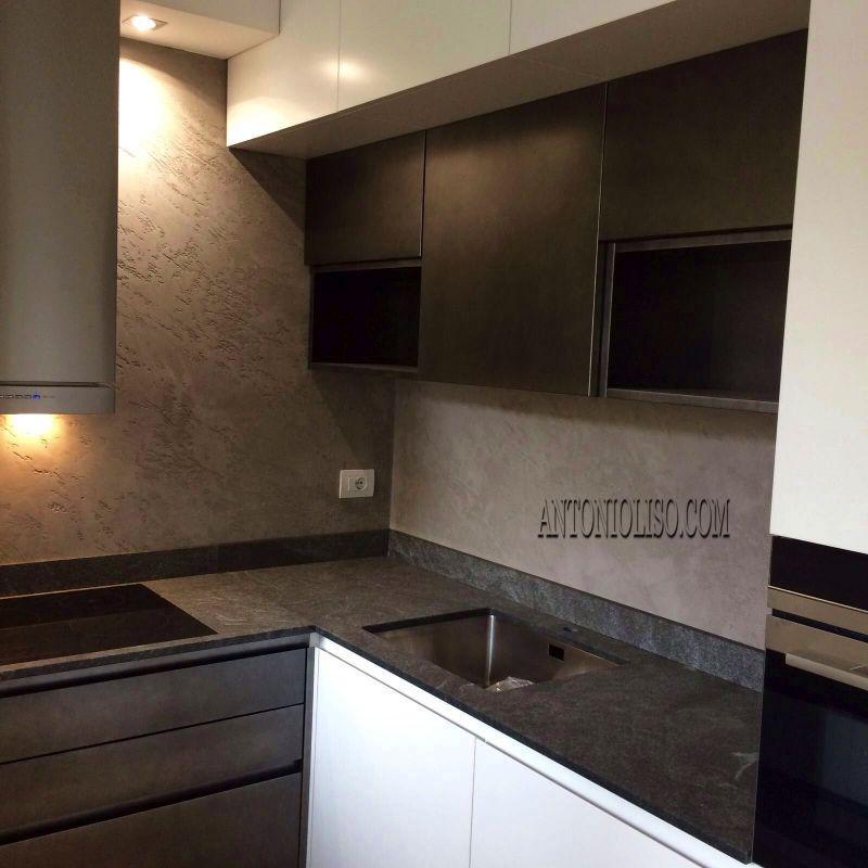 Decorazione materica pareti Milano 5