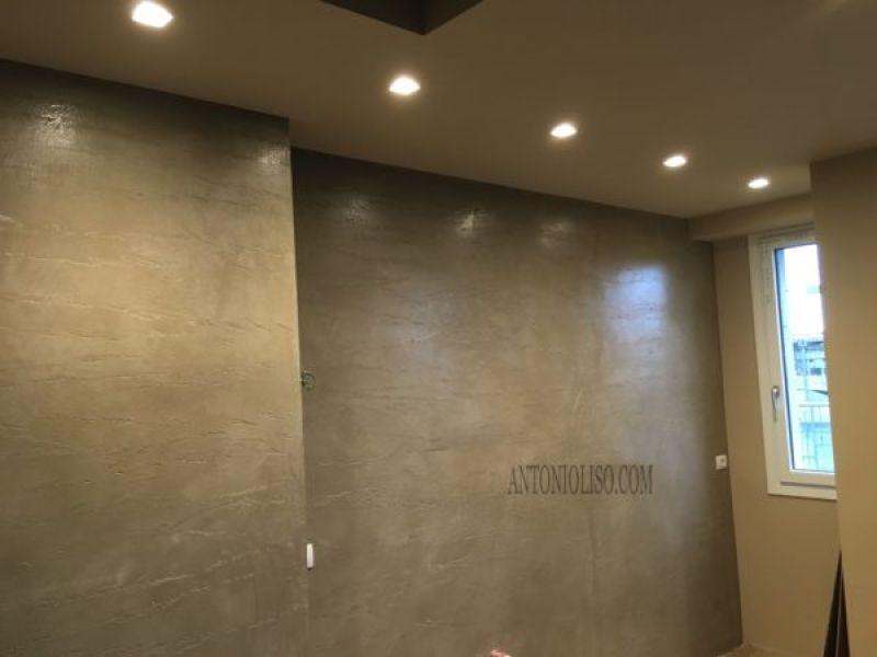Decorazione materica pareti Milano 6