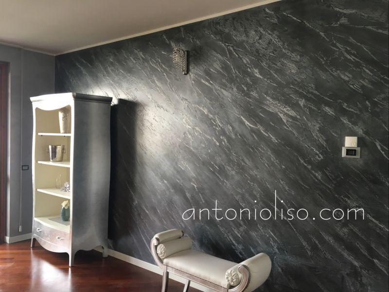 Decorazione materica pareti Milano 7