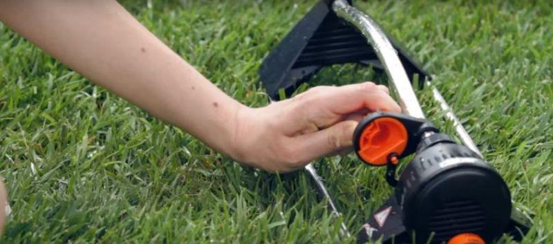 Irrigatore oscillante Compact 160 Claber 5