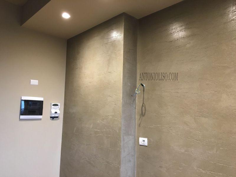 Pareti effetto cemento Milano 2