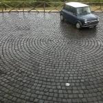 Fornitura e posa cubetti di porfido Marino di Roma