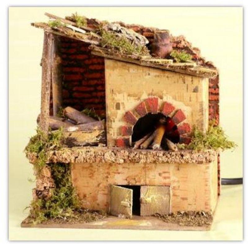 Prezzo forno a legna per presepe for Forno a legna per pizza fai da te
