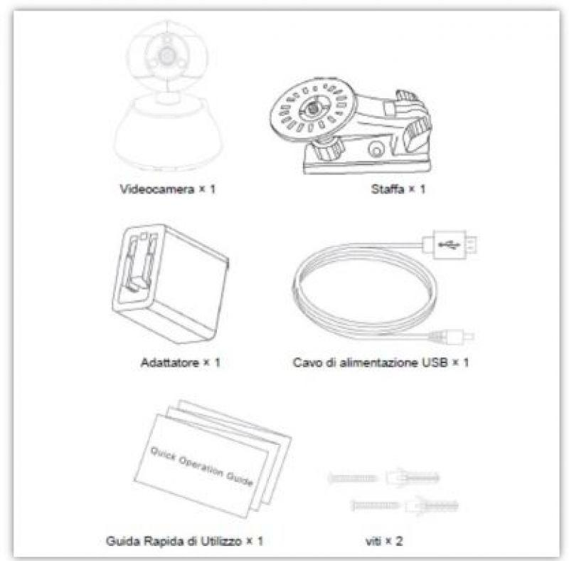 Telecamera wireless ELCART 2