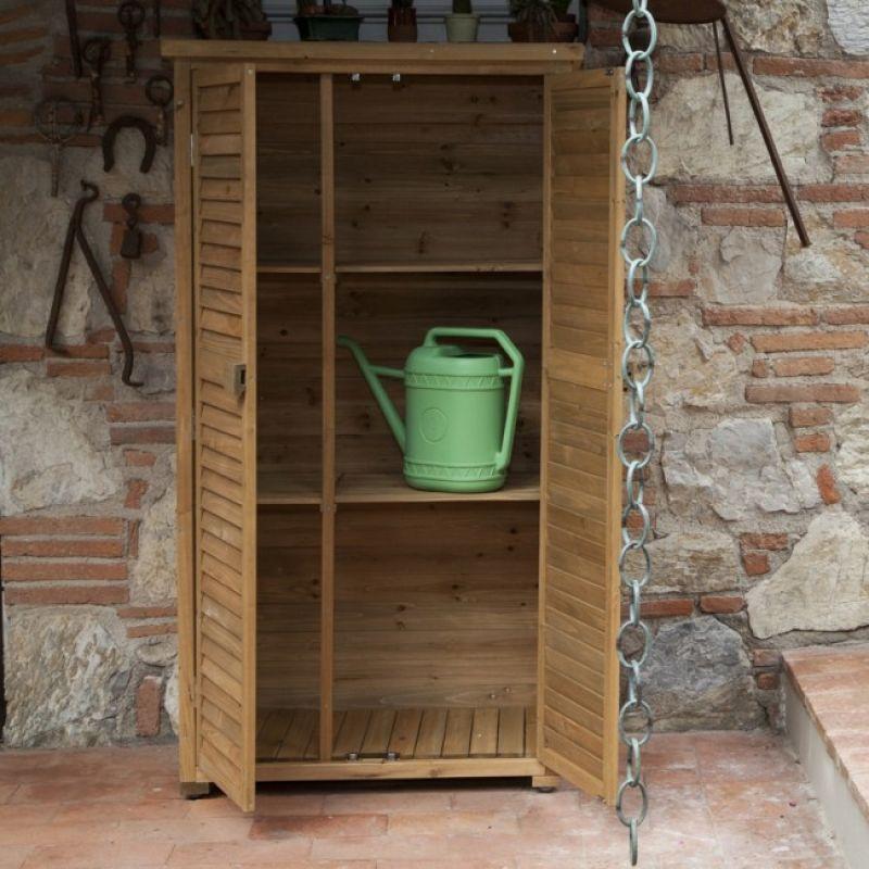 Prezzo armadio da esterno in legno solido for Mobili in legno da esterno