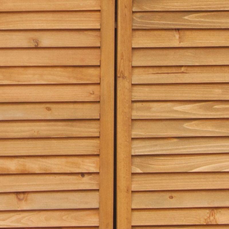 Armadio da esterno in legno SOLIDO 5