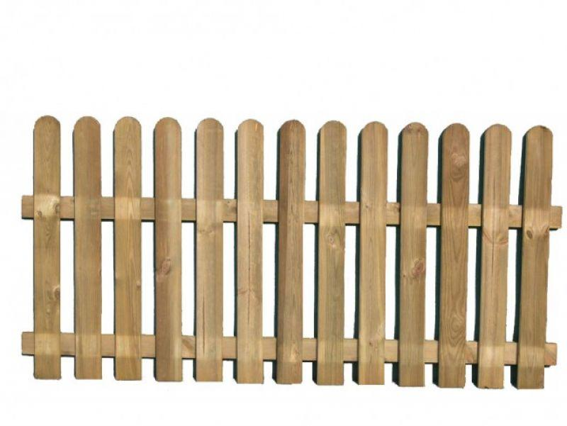 Steccato alto preassemblato in pino 2