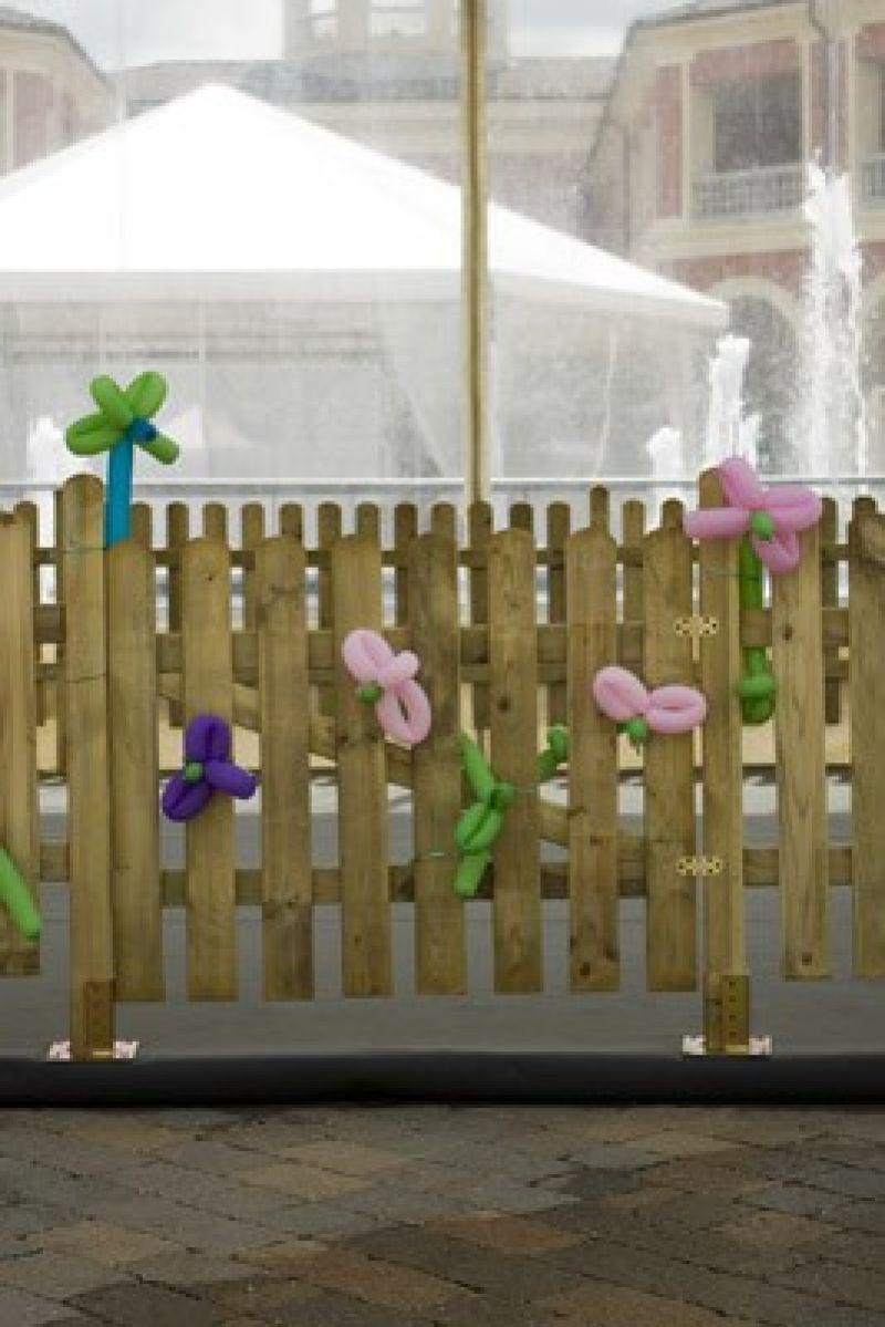 Steccato alto preassemblato in pino 6