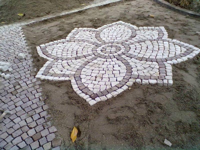 Posa in opera mosaici Bisazza Marino di Roma 1