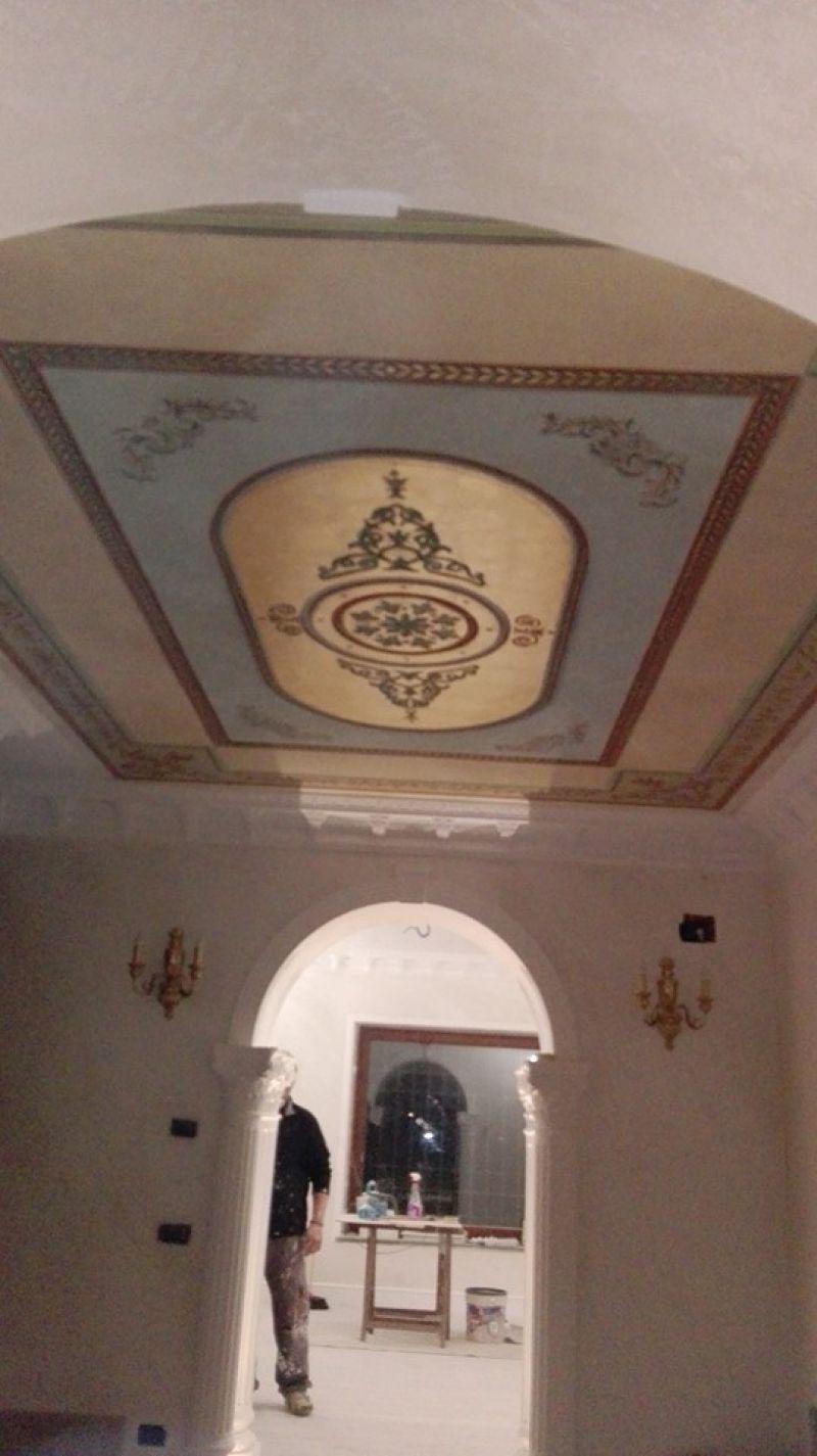 Posa in opera mosaici Bisazza Marino di Roma 4