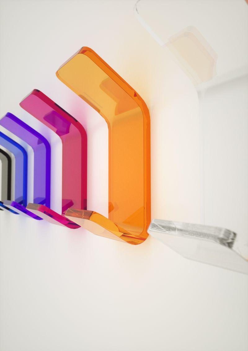 Prezzo: Appediabiti da bagno plexiglass