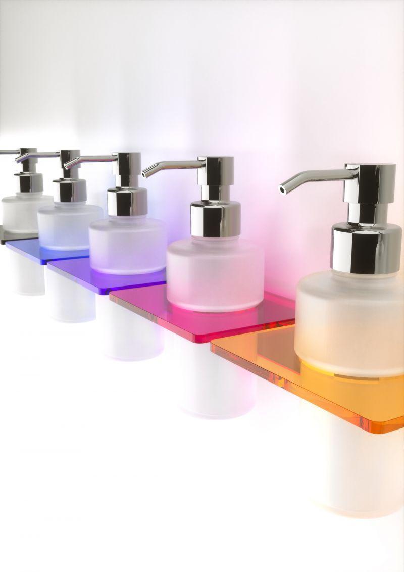 Porta sapone liquido da parete 1