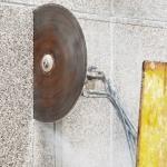 Taglio cemento armato con disco Venezia