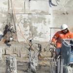 Taglio cemento armato con filo diamantato Venezia