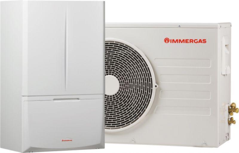 Pompa di calore ibrida Magis Combo Plus5 1