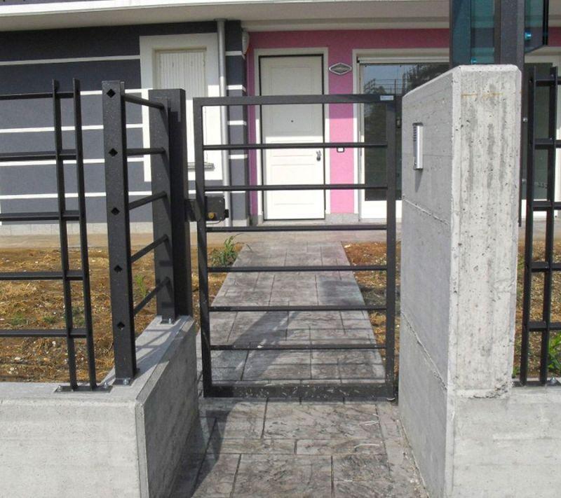 Cancello pedonale Mantova 1