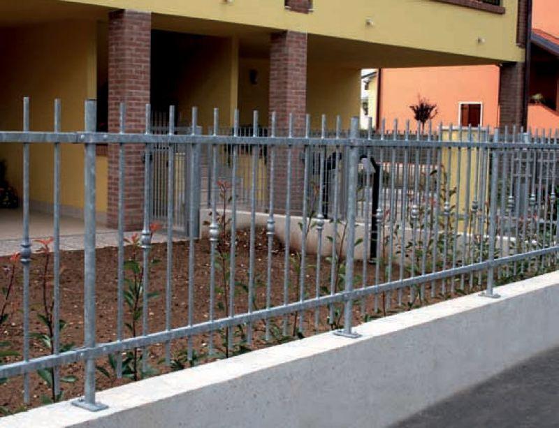 Recinzione in acciaio Roma 1