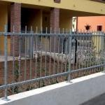 Recinzione in acciaio Roma
