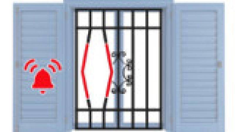 Inferriata di sicurezza con allarme integrato 2