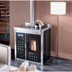 Klover termostufa pellet riscaldamento acqua sanitaria smart