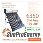 Pannello Solare Termico Mod. SPR 18-15 165 LITRI
