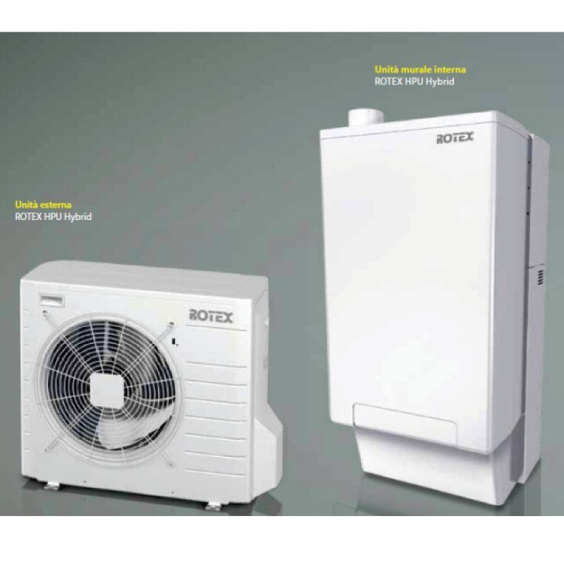 Prezzo pompa di calore ibrida rotex for Impianto fotovoltaico con pompa di calore prezzi