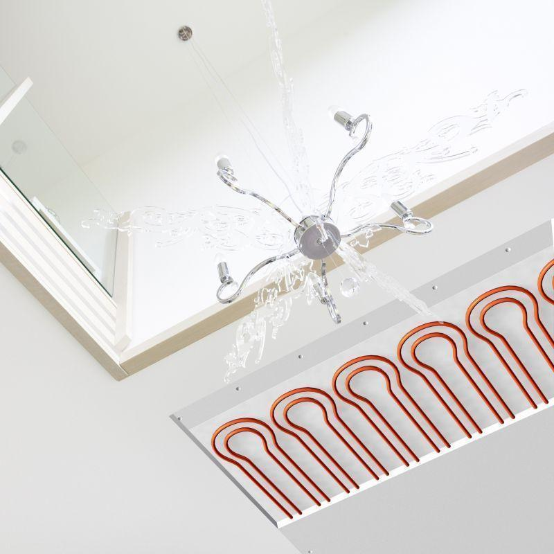 Sistema radiante a soffitto REHAU 2