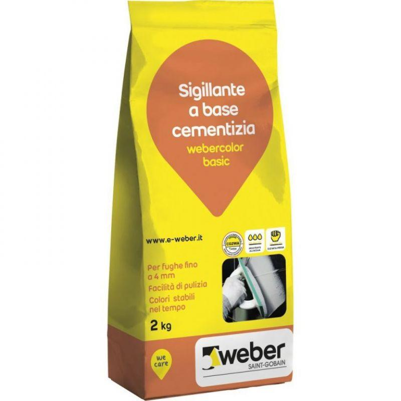Sigillante per fughe weber.color basic 2 kg 1
