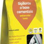 Sigillante per fughe weber.color basic 5 kg