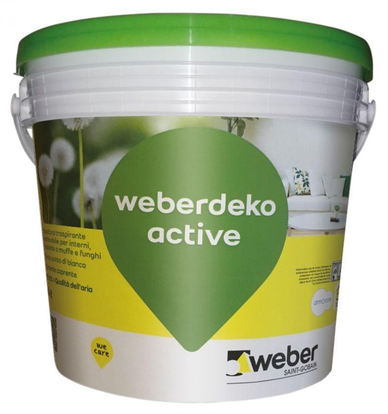 Idropittura weber.deko active 1