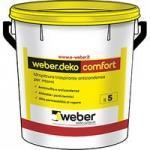 Idropittura anticondensa weberdeko comfort