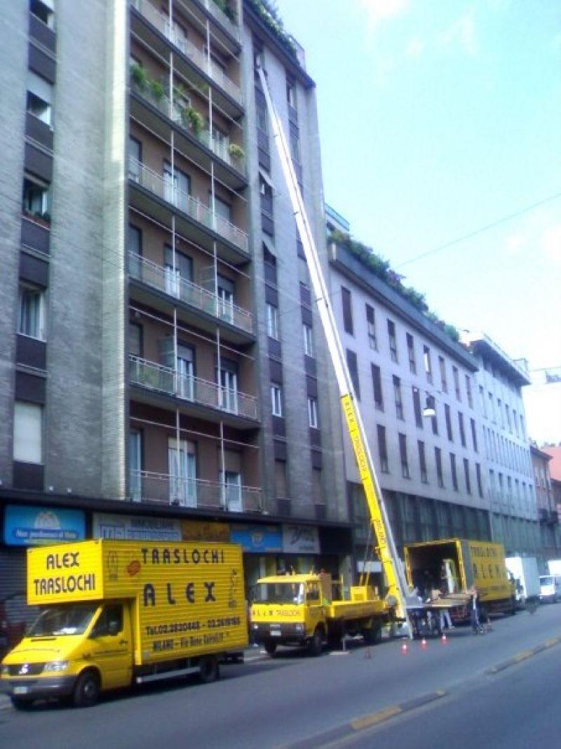 Noleggio autoscala Milano 1
