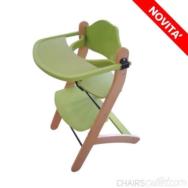Yogi: seggiolone in legno - 1963243 1
