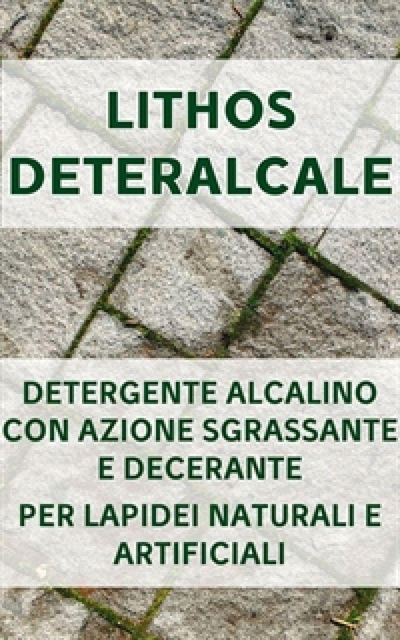Detergente per lapidei LITHOS DETERALCALE 1