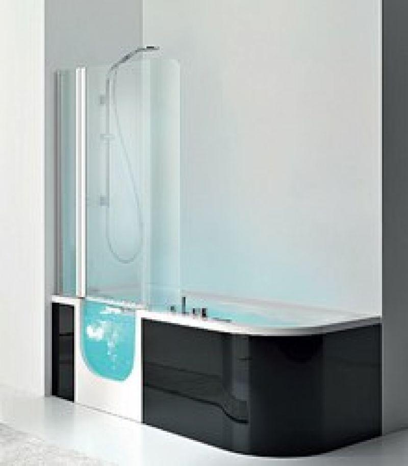 Prezzo: Vasca idromassaggio con sportello integrato - stilbagnocasa ...