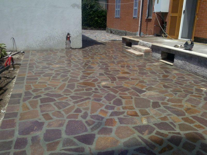 Lavorazioni col porfido, Marino di Roma 5