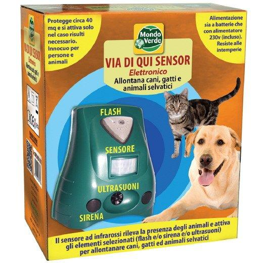 Via di qui sensor dissuasore per cani 1